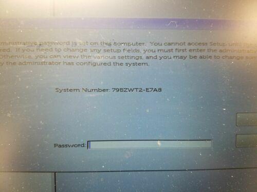 Unlock bios password Dell Latitude 5490,Dell Latitude 7390,Latitude 7490,E7A8
