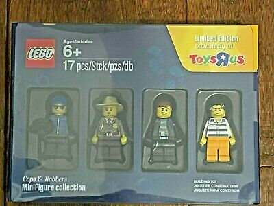 LEGO Cops & Robbers Bricktober 5004574 Minifigure Collection Toys R Us Promo Set