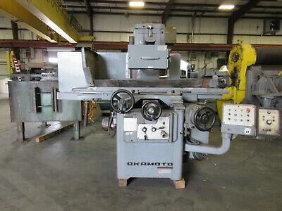 Okamoto 12 X 24 Automatic Surface Grinder Accugar-124n