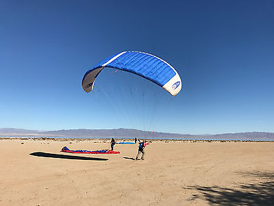 Paraglider, Paragliding, Paraglide, Parachute, Paratoys beginner large, used.