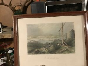 Early prints from areas around Saint John