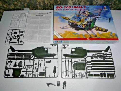 Italeri 601 BO-105/PAH-1 Anti Tank Helicopter 1:32 Model Kit