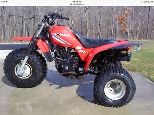 Looking for a Honda atc 250sx fuel tank and fenders