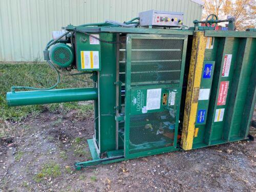 "Load King 60"" Vertical 1120047 Cardboard Recycle Baler Crusher Bales 208v/3p"