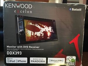 Kenwood Excelon Monitor With DVD Receiver