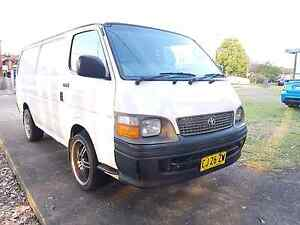 1999 hiace 2.4 efi lwb manual St Marys Penrith Area Preview