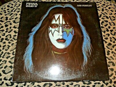 """KISS """"Ace Frehley'"""" '78 EX LP + Poster"""