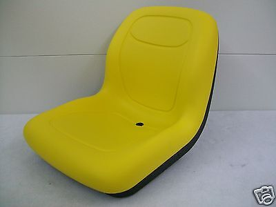 New Yellow HIGH BACK SEAT for John Deere GATORS Made by MILSCO - Made in USA #BI