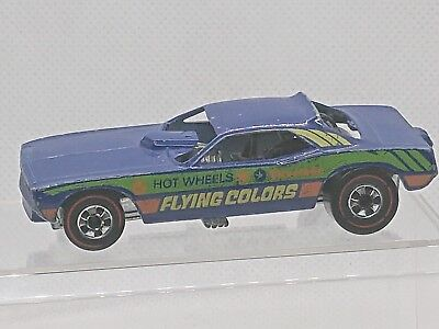 1974 Hot Wheels Top Eliminator Drag Car (Flying Colors) Hong Kong Redline HW1151