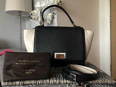 Kate Spade Laurel Wesley Place Leather Handbag Cross Body Shoulder Bag VGC