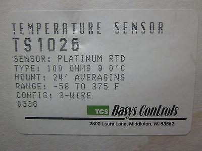 New Basys Controls Temperature Sensor Ts1026..................mm-863