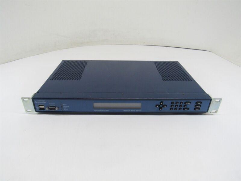 Microsemi 1520R-S300 Syncserver S300 NTP Stratum 1 GPS Network Time Receiver RMK