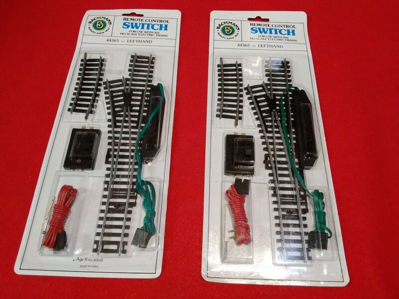 LOT OF 2 BACHMANN 44365 LEFT HAND REMOTE CONTROL SWITCH
