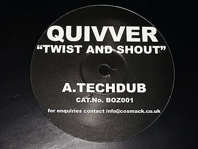 Quivver Twist & Shout John Graham Sasha Digweed Rare BozBoz 2002 LTD 1/1000 12""
