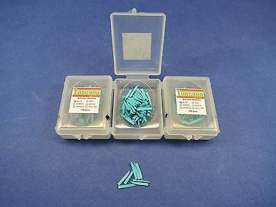 Dental Wedges Wooden Wood Blue Kit 3 Box 300 Pcs Toscana