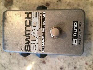 Switch blade pedal