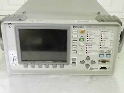Hp Agilent 37718a Omniber 718 Tester