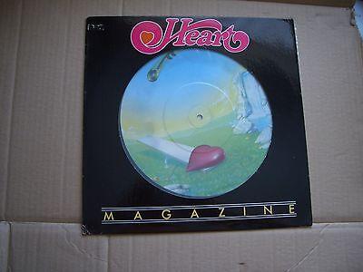 HEART - MAGAZINE - ORIGINAL USA  NUMBERED PICTURE DISC VINYL LP - 19541 / 100000