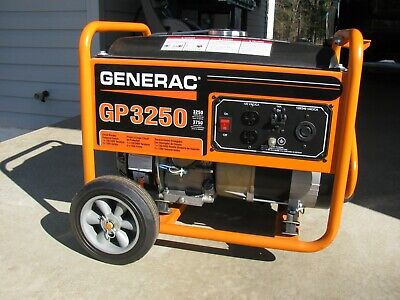 Generac Gp-3250 Generator - Pick Up Only - Low Hours - Excellent Condition