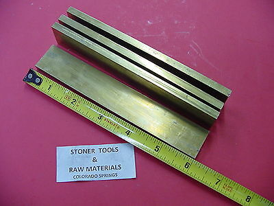 4 Pieces 14 X 1 C360 Brass Flat Bar 6 Long Solid .250 Mill Stock H02