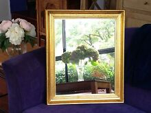 Mirror - rectangular with gold frame Pearce Woden Valley Preview
