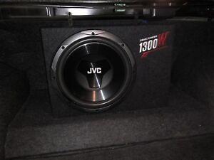 12 Inches 30 CM JVC Peak Power 1300W  Subwoofer