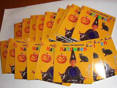 20 x Fühlbuch Halloween Fühlen und begreifen Ars Edition Pappbilderbuch neu