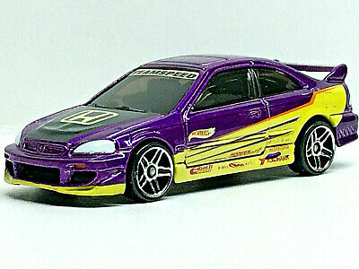 Hot Wheels HONDA CIVIC SI (Purple) Mint/Loose VHTF