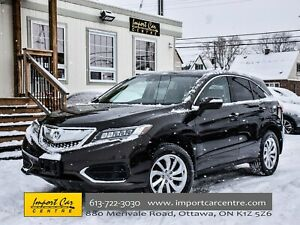 2016 Acura RDX Tech Pkg LEATHER ROOF BLIS NAV LNE DEP WOW!!