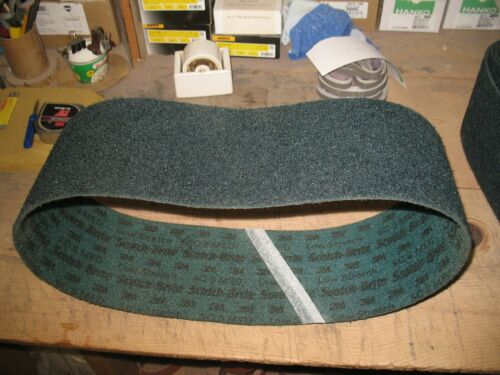 "1- 6"" x 48"" 3M Scotch Brite Med. Low Stretch Surface Conditioning Belt"