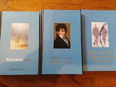 Set Of 3 Great Reads Books, Jane Austin, Falkner, John Le Carre