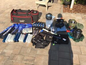 Paintball gear clearout