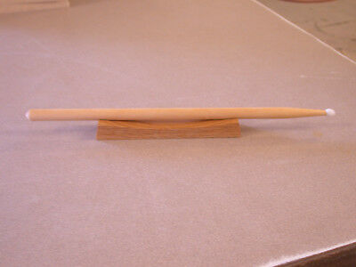 Drum Stick Souvenir Collector Display Stand Solid Oak Made in Oklahoma USA!