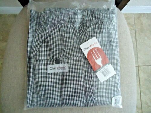 Chef Works Pants XL NEW