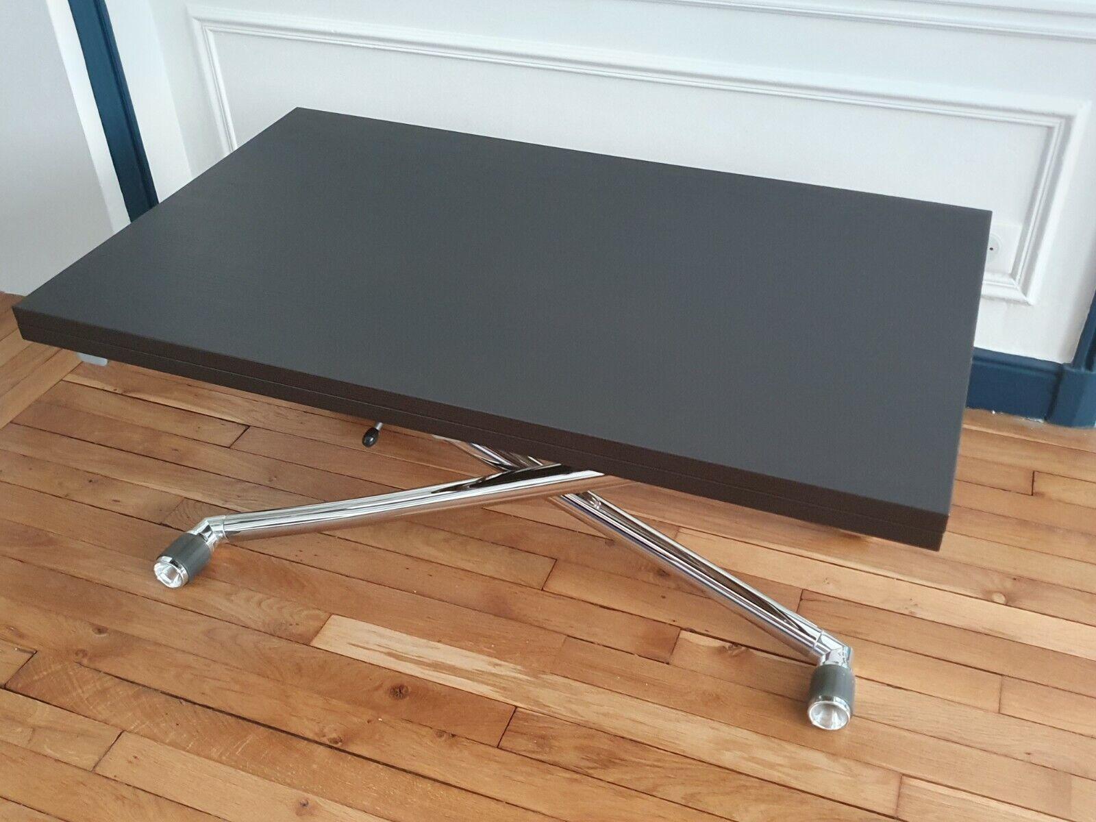Table basse relevable & modulable - ozzio - première main