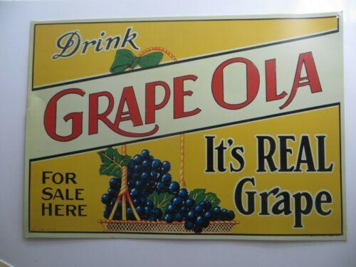 DRINK GRAPE OLA, IT