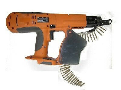 Ridgid R8660 18 Volt Collated Drywalldeck Screwdriver Wscrew Bucket 1-34