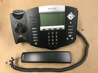 Polycom Ip650 Sip Soundpoint Digital Ip Phone W Handset Base Power