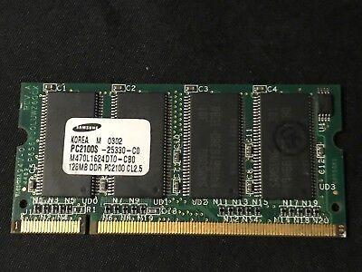 128mb Ddr 266mhz Pc - Samsung 128MB PC2100 CL2.5 DDR 266MHz Memory 317434-001 SODIMM