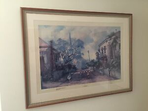 Large Signed and Framed D'Arcy Doyle 'Hopscotch' Amaroo Gungahlin Area Preview