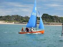 Pacer sailing dingy Somers Mornington Peninsula Preview