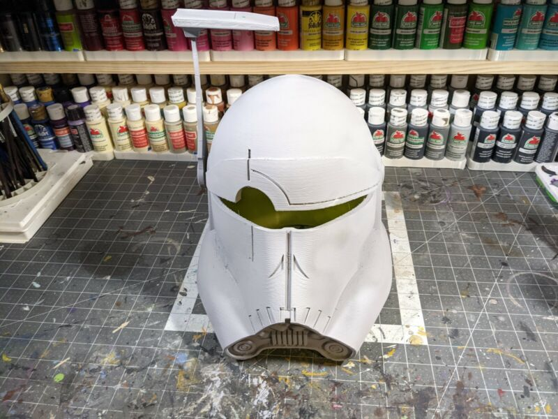 3d Printed Bad Batch Crosshair Clone Style Cosplay Helmet Kit