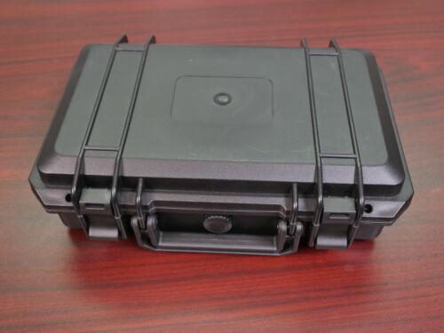 Weatherproof Hard Case with Cutom Laser Cut Foam Insert 11.5 x 8 x 4