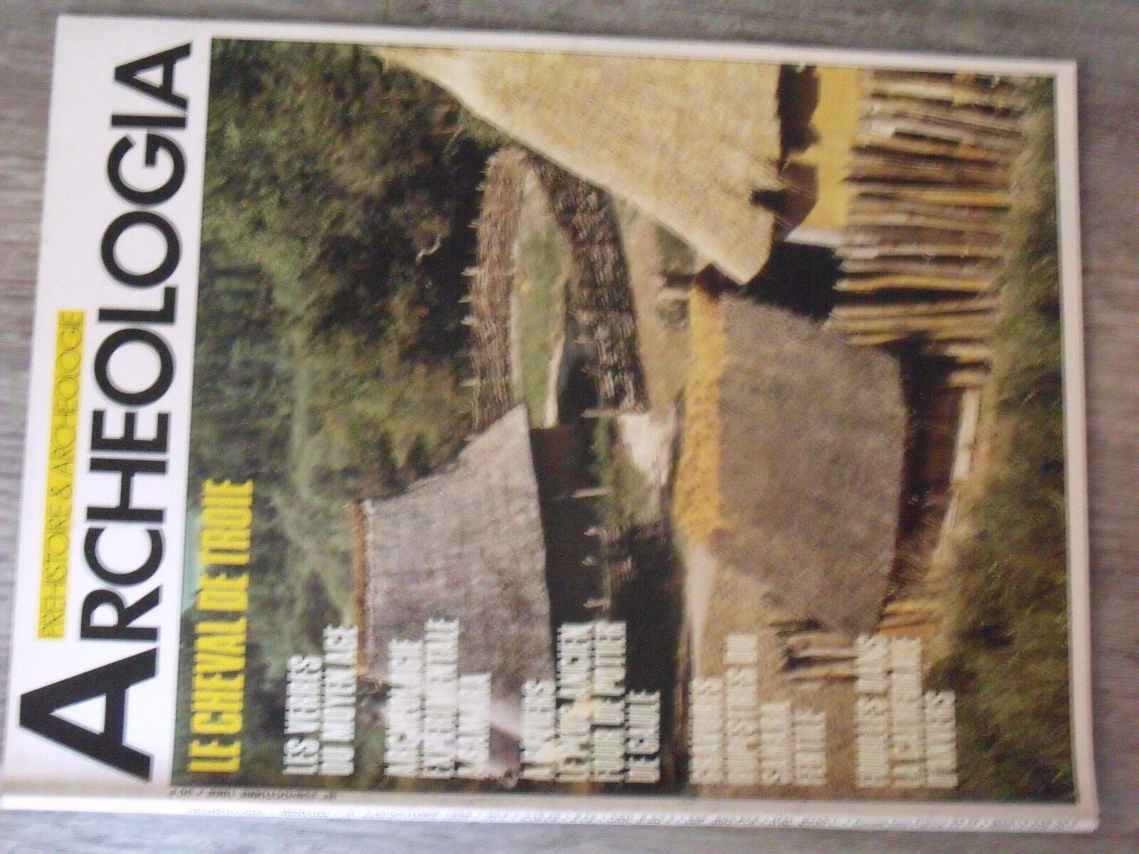 $$$ revue archeologia n°239 cheval de troieverres moyen agesamarasahara