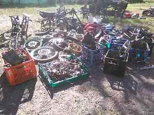 PIT BIKE /parts GARAGE SALE Friday And Saturday only Logan Village Logan Area Preview