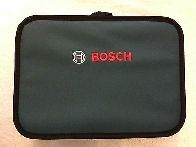 "New Bosch 12"" x 9""  x 3"" Contractors Tool Bag with Inside Pocket"