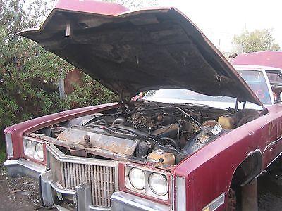 1971 Cadillac Deville Engine - 1971-1978 CADILLAC ENGINE COOLANT RESERVOIR,ELDORADO,RADIATOR OVERFLOW,DEVILLE