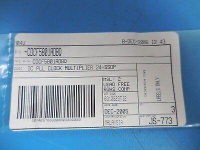 Texas Instruments Cdcf5801adbq Ic Pll Clock Multiplier 24-ssop Lot Of 3