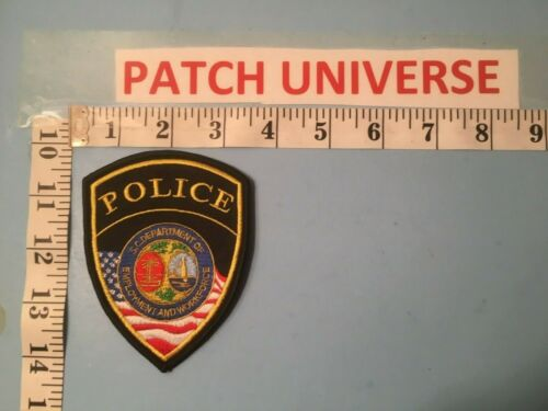 SOUTH CAROLINA DEPARTMENT OF EMPLOY,MENT AND WORKFORCE  SHOULDER PATCH R018