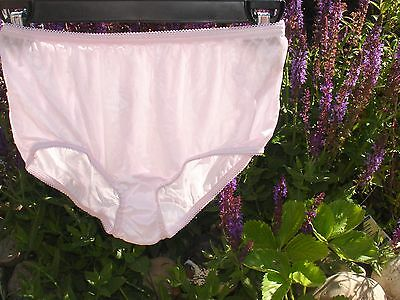 Lavender Nylon Silky Panties NWOT Vtg Lady Cameo Cotton gusset Sz 6